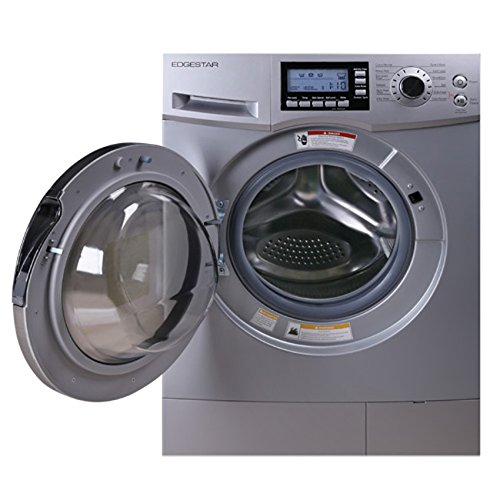 EdgeStar 2.0 Cu. Ft. Washer Dryer Combo with Portability Kit - Silver