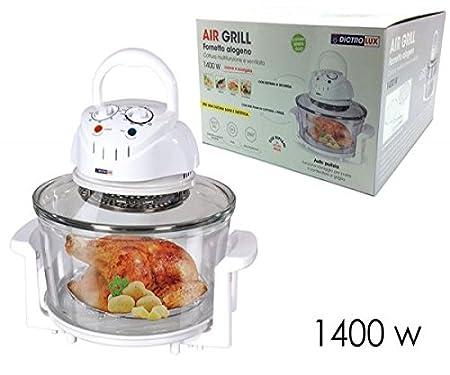 Horno halógeno Air Grill 1400 W Cocina Multifunción y Ventilata ...