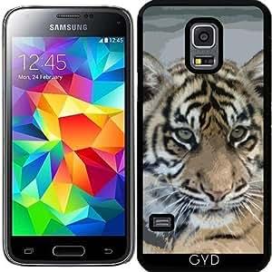 Funda para Samsung Galaxy S5 Mini - Tiger_2014_0901 by JAMFoto