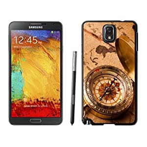 NEW Unique Custom Designed For Case Samsung Note 4 Cover Phone Case With Vintage Compass_Black Phone Case
