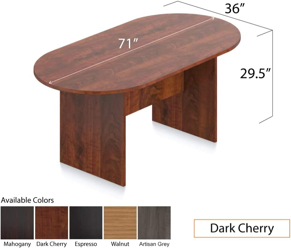 10FT Conference Table GOF 6FT Mahogany Walnut 8FT Espresso Cherry 10FT, Artisan Grey