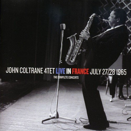 CD : John Coltrane - The Complete Concerts: Live In France July 27 and 28, 1965 (Spain - Import, 2 Disc)
