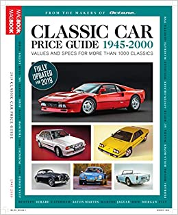 Classic Car Price Guide 2019: Amazon co uk: Octane Magazine