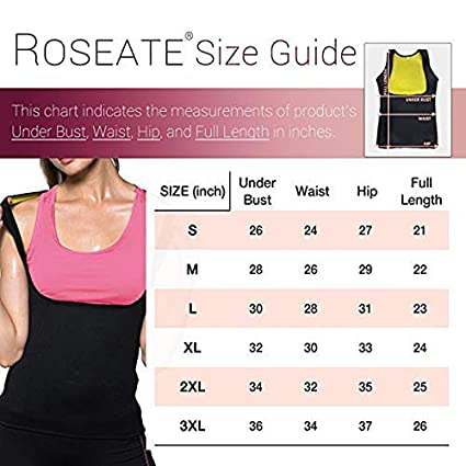 SHAPERBODY Womens Body Shaper Hot Sweat Slimming Sauna Vest Neoprene Shapewear for Tummy Fat Burner Weight Loss