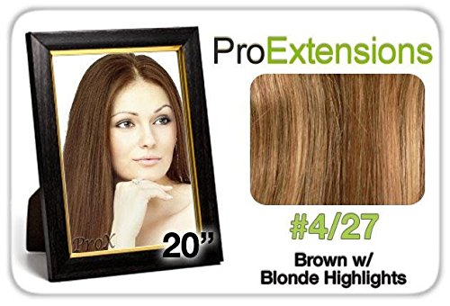 Pro Fusion 20Inches #4/27 Brown W/Blonde Highlights Size One