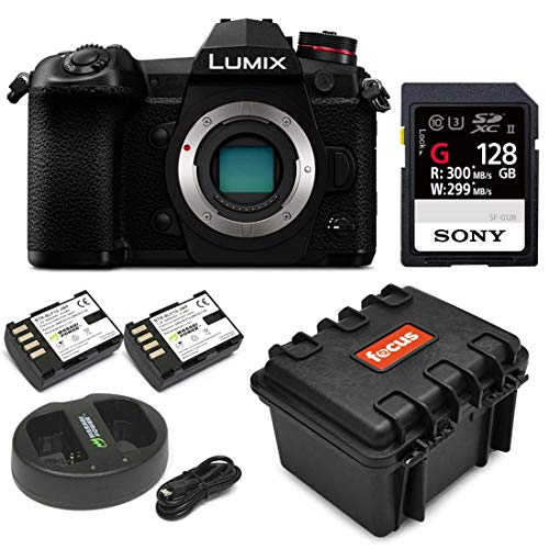 PANASONIC LUMIX G9 Mirrorless Camera Body, 20.3 Megapixels Plus 80 Megapixel High-Resolution Mode, 5-Axis Dual For Sale