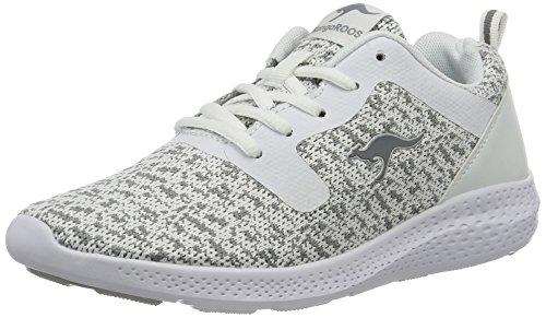 de deporte Ii v color mujer para semi multicolor gris Kangaroos blanco de 021 Zapatillas K 5Iwtx8W4