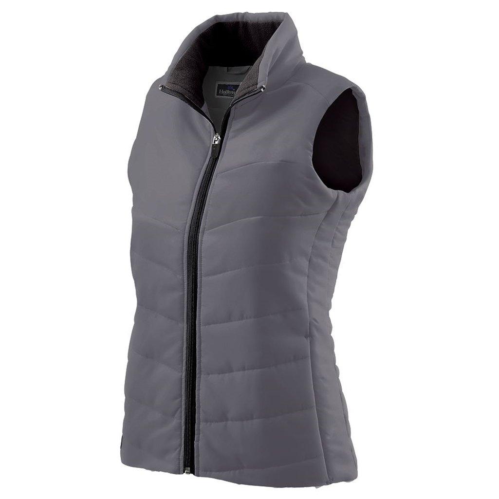 Holloway Ladies Admire Lightweight Vest (X-Small, Graphite)