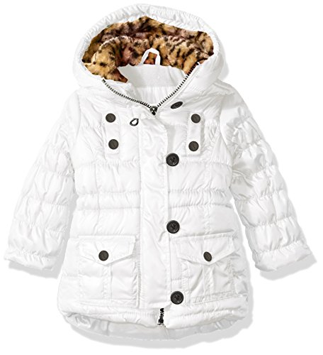 Polyfil Girls' Jacket Urban White Republic Ur gUx1C6
