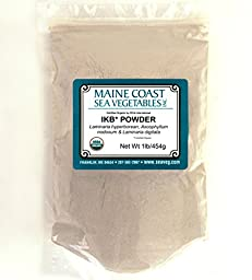 Organic Raw Icelandic Kelp Powder Blend - 1 Lb