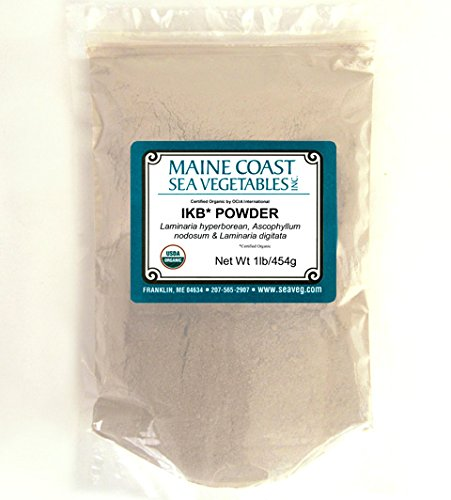 - Organic Raw Icelandic Kelp Powder Blend - 1 Lb