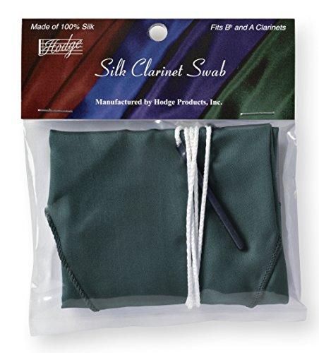 Hodge Silk Clarinet Swab, Green by Hodge