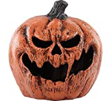 Light Up Evil Pumpkin Halloween Props and Decor, 11' W x 9' L x 11 1/2' H, by Seasonal Visions