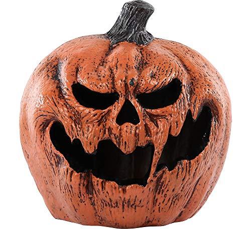 Light Up Evil Pumpkin Halloween Props and Decor, 11