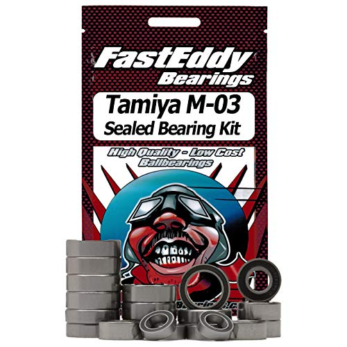 Tamiya M-03 Chassis Sealed Ball Bearing Kit for RC ()