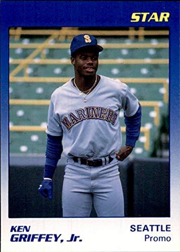 (KEN GRIFFEY JR. HOF SEATTLE MARINERS 1990 Star Co. Blank Back PROMO (Box196MP))