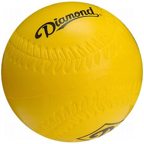 Baseballs Soft Practice - Diamond Foam Practice Baseballs 12 Ball Pack