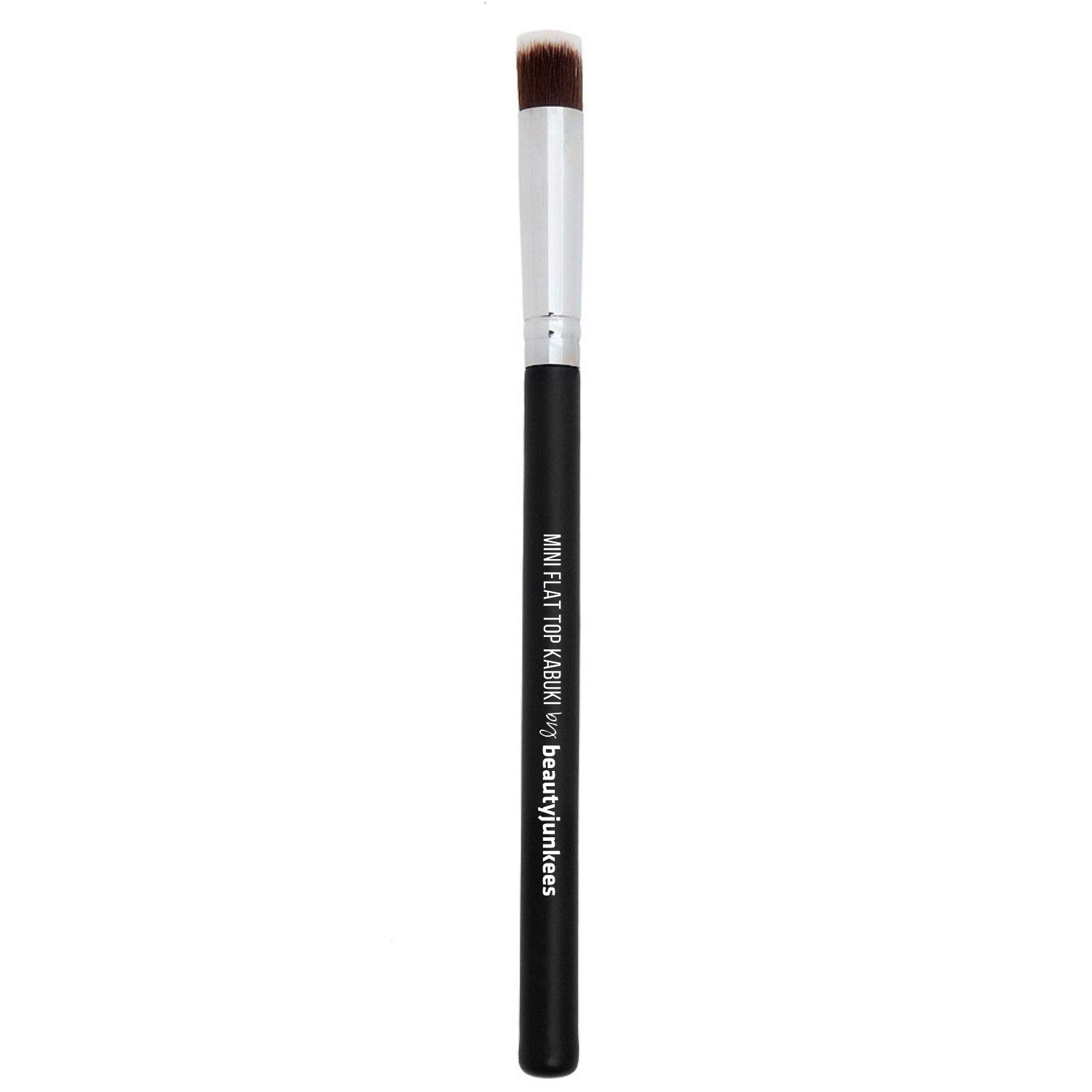 Under Eye Concealer Makeup Brush - Small Mini Flat Top Kabuki Synthetic Bristles for Acne and Undereye Concealing, Professional Blending Liquid, Powder, Cream, Mineral Cosmetics, Full Coverage, Vegan