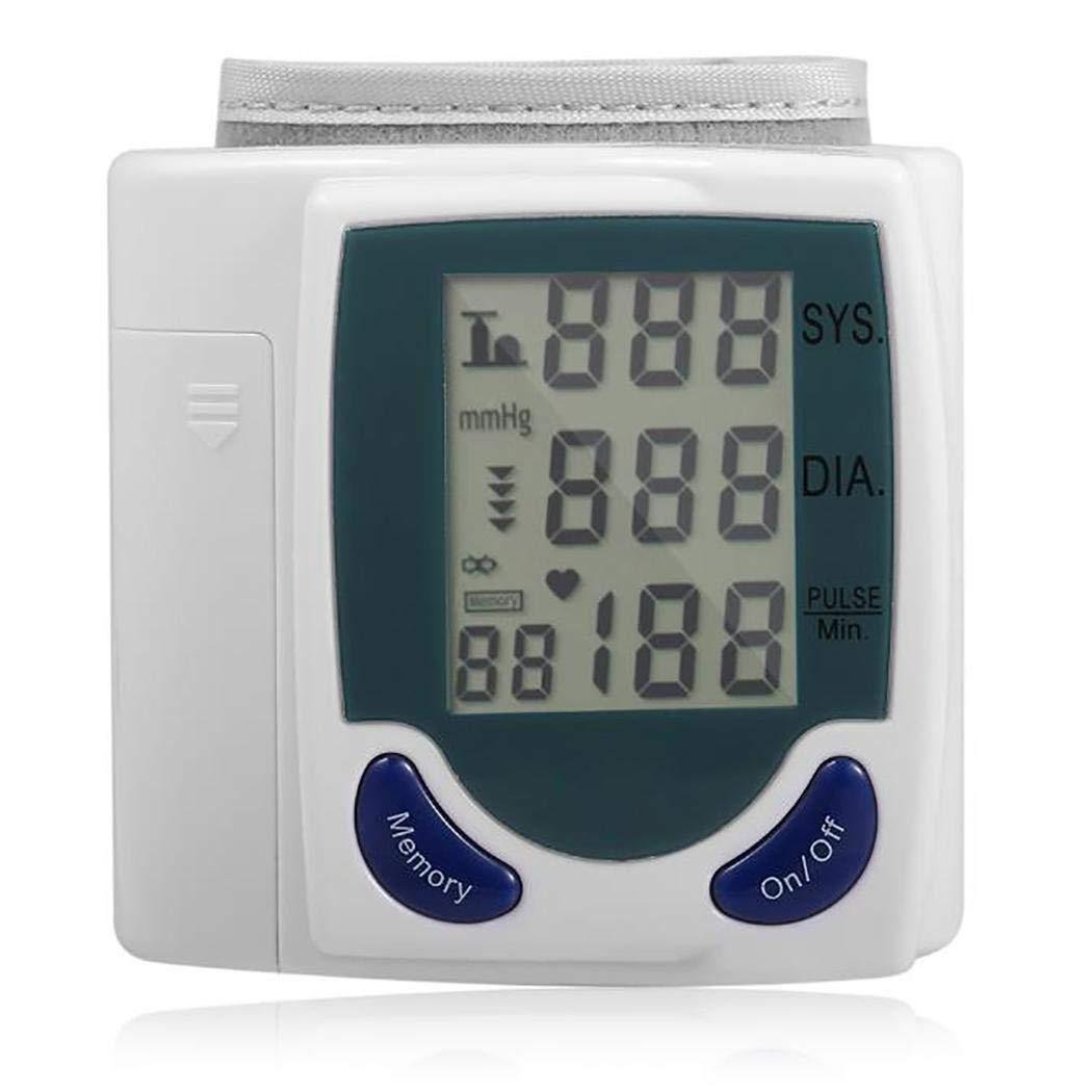 Qenci Wrist Digital Blood Pressure Monitor Tonometer Health Care Blood Pressure Monitors by Qenci (Image #4)