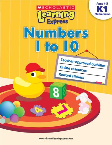 Scholastic Learning Express: Numbers 1 to 10
