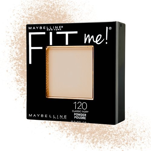 4153INQyfdL Maybelline New York Fit Me Matte Plus Poreless Powder, Classic Ivory, 0.29 Ounce