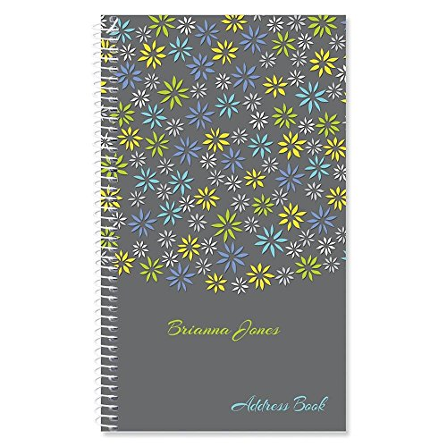 Flower Sky Personalized Lifetime Address Book by Current