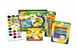 Compra Crayola Arts & Crafts Paint Kit, featuring Glitter Glue, Washable Watercolors, Washable Kids' Paint and Marker & Watercolor Pad en Usame