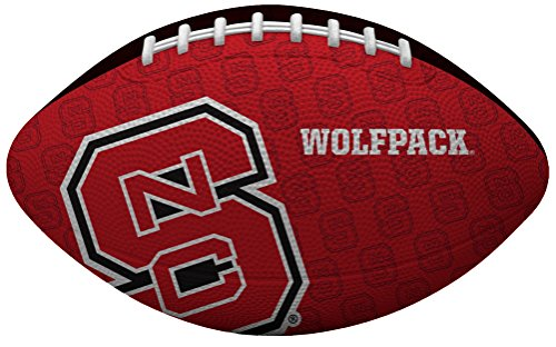 NCAA North Carolina State Wolfpack Junior Gridiron Football, Red (Nc State Football)