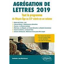 Agrégation de Lettres : Tout le programme du Moyen-Age au XXe siècle en 1 volume Jul 24, 2018