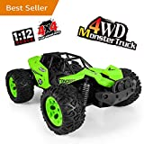 RC Car Toys, Off Road Cars Vehicle 2.4Ghz 1/12 Crawlers Off Road Vehicle Toy Remote