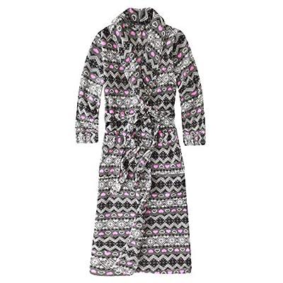 Noble Mount Women's Premium Coral Fleece Plush Spa Robe