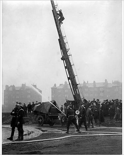 10x8 Print of Glasgow Fire Drill Competition, Scotland (7242549)