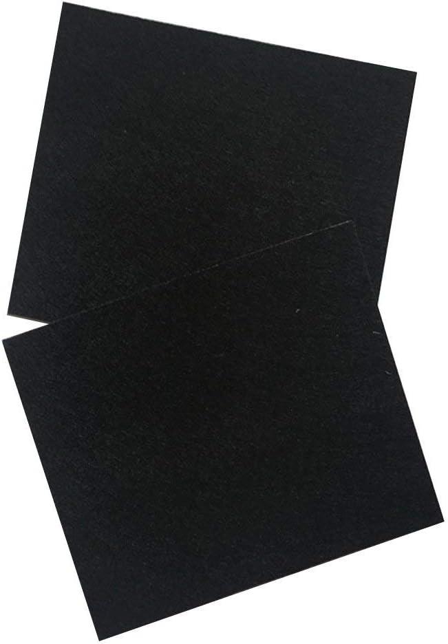 Ogquaton Tapis de feutre de meubles chaise auto-adh/ésive pieds protecteurs pieds protecteurs pour prot/éger ensemble de meubles de 132 Pcs noir /él/égant et populaire