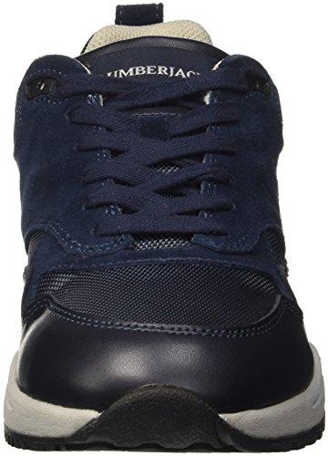 Lumberjack Herren ONeal Low-Top Blu (Cc001 Navy Blue)