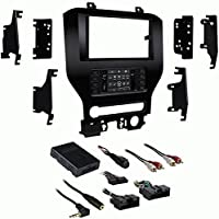 Metra 99-5838CH Single/Double DIN Dash Kit for Select 2015-Up Ford Mustang