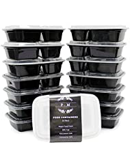 [14-Pack] 35oz Meal Prep Containers -
