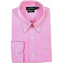Lauren Ralph Lauren Men's Classic-Fit Non Iron Striped Dress Shirt