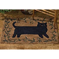 Park Designs Cat Hooked Rug, 24 x 36