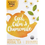 Wickedly Prime Organic Herbal Tea, Chamomile, 15 count