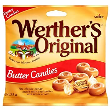 amazon com werther s original butter candy 135g grocery