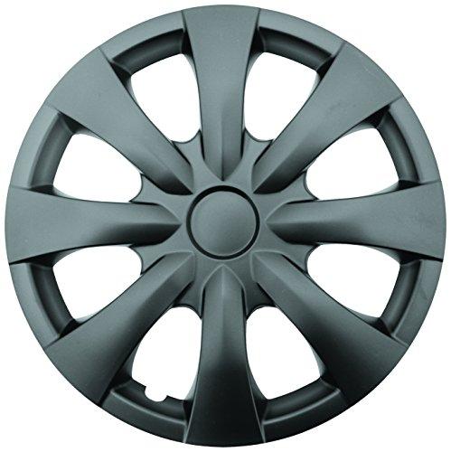 Chrysler Turisma 15 Matte Black Replica Wheel Cover, Drive Accessories KT-950-15MBK Set of 4