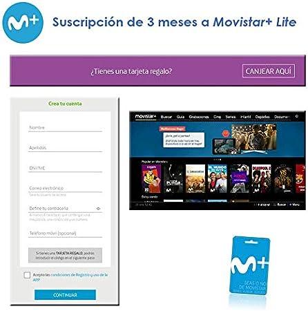 Suscripción de 3 meses a Movistar+ Lite: Amazon.es: Electrónica