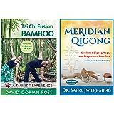 Bundle: Yoga, Tai Chi and Qigong Combined Workouts 2-DVD set (YMAA) David-Dorian Ross Tai Chi / Yoga Fusion DVD and Dr. Yang Meridian Qigong DVD
