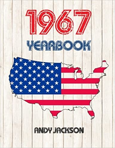 1967 U.S. Yearbook: Interesting original book full of facts and figures from 1967 - Unique birthday gift or anniversary present idea!