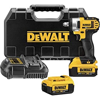 DEWALT 20V MAX Cordless Impact Wrench with Detent Pin, 1/2 ...