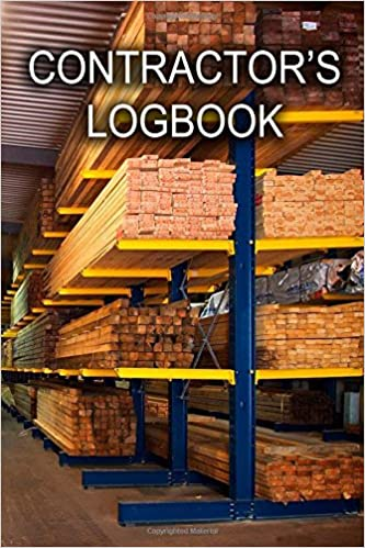 Daily Construction Log: Large 8.5 Inches By 11 Inches Construction Log Book