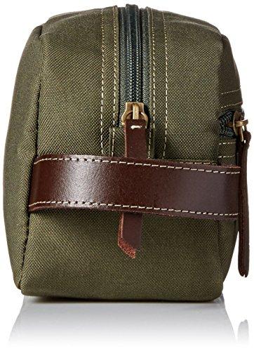 51LkmTIq3uL - Timberland Men's Toiletry Bag Canvas Travel Kit Organizer, Olive, One Size