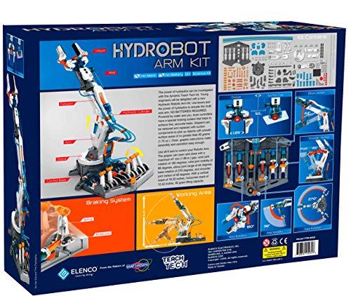 "51Lkma7zBHL - Elenco Teach Tech ""Mech-5"", Programmable Mechanical Robot Coding Kit, STEM Building Toy for Kids 10+"