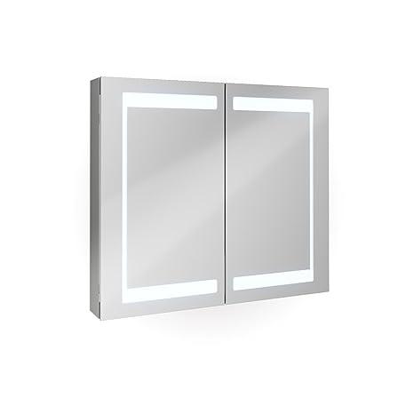 Armadietto A Specchio Per Bagno.Armadietto Specchio Bagno In Alluminio Bagno Armadietto