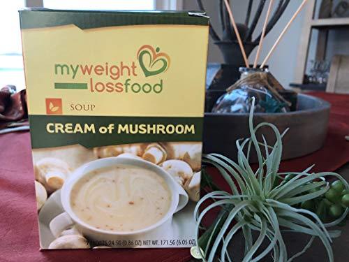 HealthWise Cream of Mushroom, (7 packets of 0.864 oz., net 6.049 oz.)